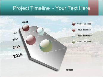 Beaches PowerPoint Template - Slide 26