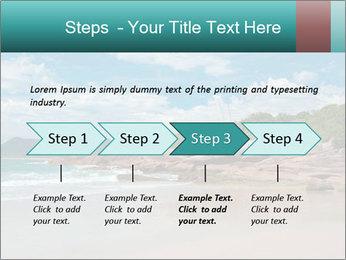 Beaches PowerPoint Template - Slide 4