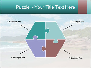 Beaches PowerPoint Template - Slide 40