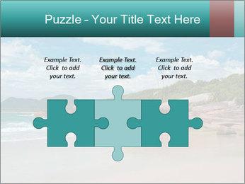 Beaches PowerPoint Template - Slide 42