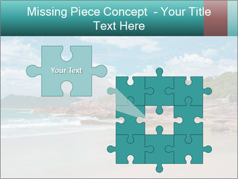 Beaches PowerPoint Template - Slide 45