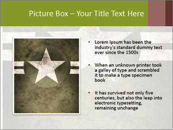 Military army star PowerPoint Templates - Slide 13