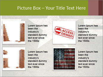 Military army star PowerPoint Templates - Slide 14
