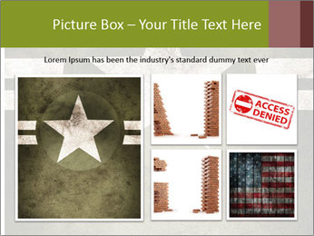 Military army star PowerPoint Templates - Slide 19