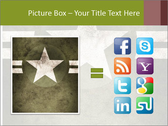 Military army star PowerPoint Templates - Slide 21