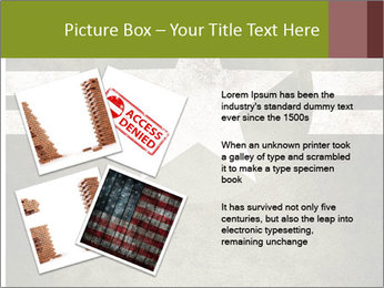 Military army star PowerPoint Templates - Slide 23