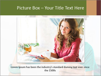 Happy African Woman PowerPoint Template - Slide 16