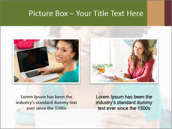 Happy African Woman PowerPoint Template - Slide 18