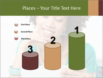 Happy African Woman PowerPoint Template - Slide 65