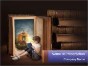 Fairy story book PowerPoint Templates