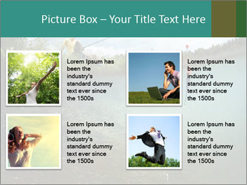 Young smiling man PowerPoint Template - Slide 14