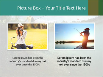 Young smiling man PowerPoint Template - Slide 18