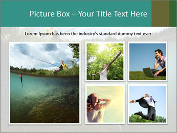 Young smiling man PowerPoint Template - Slide 19