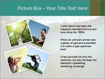 Young smiling man PowerPoint Template - Slide 23