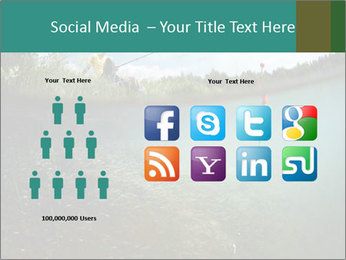 Young smiling man PowerPoint Template - Slide 5