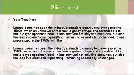 Reading PowerPoint Template - Slide 2