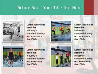 Crossfit ball PowerPoint Templates - Slide 14