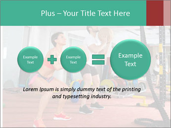 Crossfit ball PowerPoint Templates - Slide 75