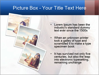 Beautiful woman PowerPoint Templates - Slide 17