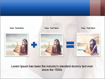 Beautiful woman PowerPoint Templates - Slide 22