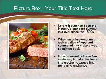 Beef steak PowerPoint Templates - Slide 13