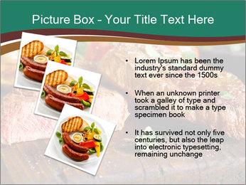 Beef steak PowerPoint Templates - Slide 17