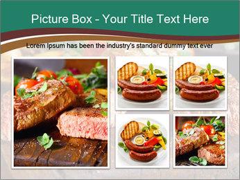 Beef steak PowerPoint Templates - Slide 19