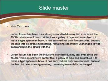 Beef steak PowerPoint Template - Slide 2
