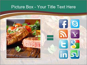 Beef steak PowerPoint Templates - Slide 21