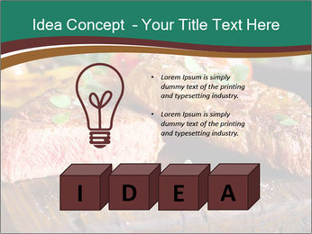 Beef steak PowerPoint Template - Slide 80