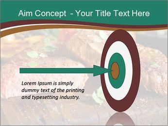 Beef steak PowerPoint Template - Slide 83