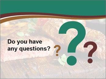 Beef steak PowerPoint Template - Slide 96
