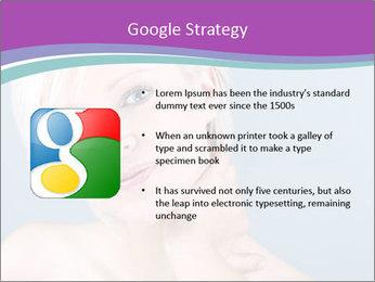 Bonde woman PowerPoint Template - Slide 10