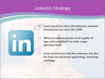 Bonde woman PowerPoint Template - Slide 12