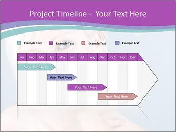 Bonde woman PowerPoint Template - Slide 25