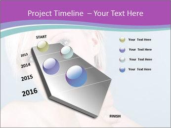 Bonde woman PowerPoint Template - Slide 26