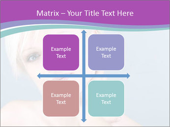 Bonde woman PowerPoint Template - Slide 37