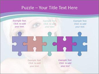Bonde woman PowerPoint Template - Slide 41