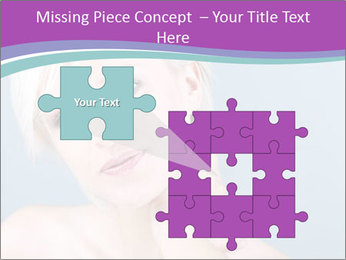 Bonde woman PowerPoint Template - Slide 45