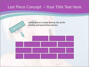 Bonde woman PowerPoint Template - Slide 46