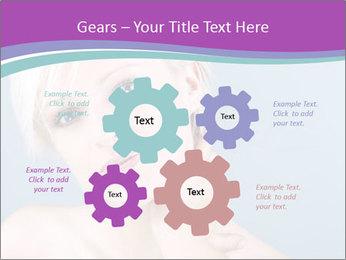 Bonde woman PowerPoint Template - Slide 47