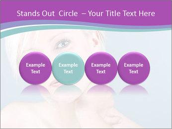 Bonde woman PowerPoint Template - Slide 76