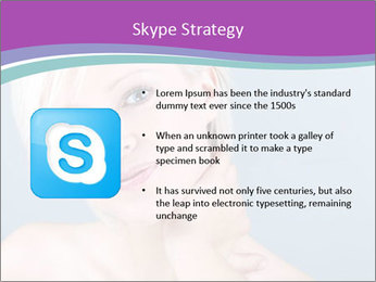 Bonde woman PowerPoint Template - Slide 8