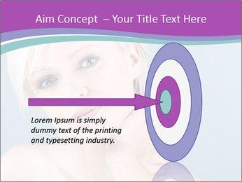 Bonde woman PowerPoint Template - Slide 83
