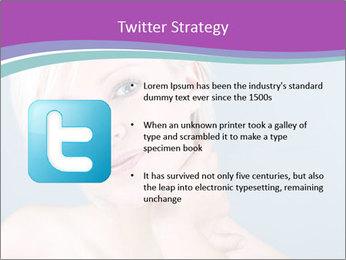Bonde woman PowerPoint Template - Slide 9