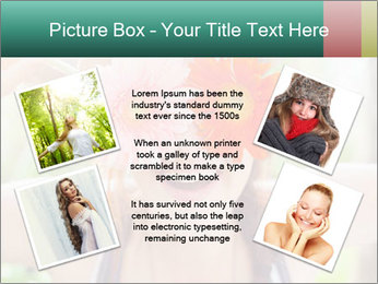 Colorful flowers PowerPoint Template - Slide 24
