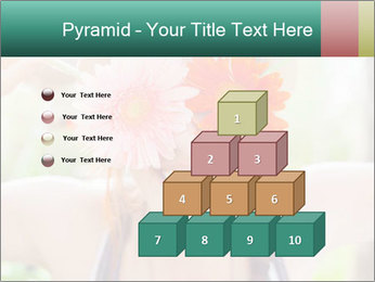 Colorful flowers PowerPoint Template - Slide 31