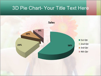 Colorful flowers PowerPoint Template - Slide 35