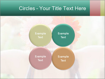 Colorful flowers PowerPoint Template - Slide 38