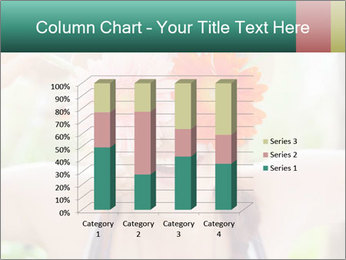 Colorful flowers PowerPoint Template - Slide 50